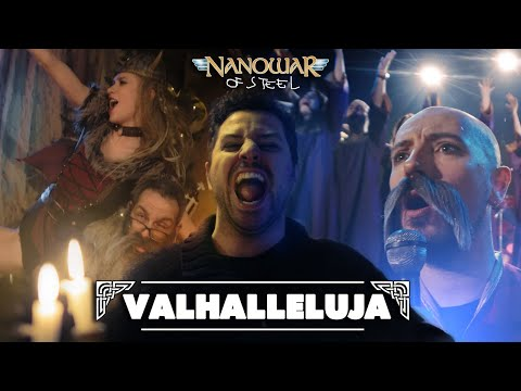 NANOWAR OF STEEL - Valhalleluja (ft. Angus McFife from Gloryhammer) | Napalm Records