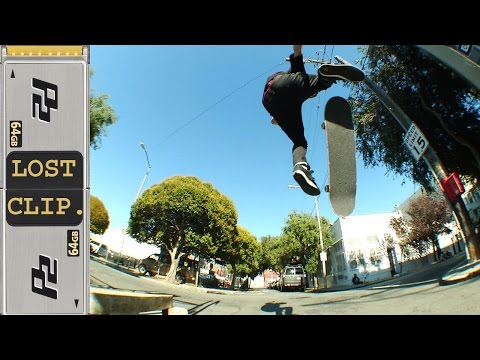 Greg Lutzka Lost & Found Skateboarding Clip #124