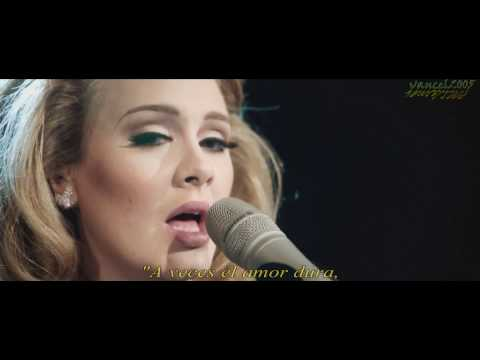 Adele - Someone Like You - HD (Live Royal Albert Hall)