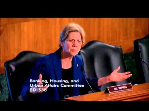 Senator Elizabeth Warren  :  Bipartisan Solutions For Housing Finance Reform?