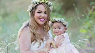Family Photoshoot with Adorable Six Months Old Baby Girl, Photographer Svitlana Vronska VLOG 014