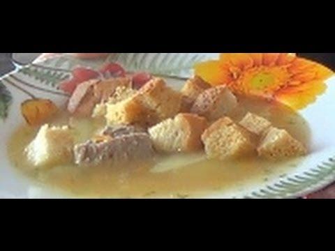 12. Суп гороховый. Pea soup