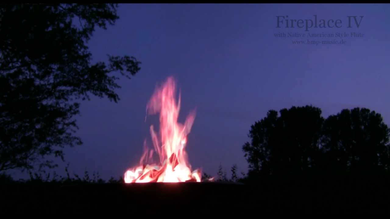 Fireplace Iv Native American Flute Drums Music