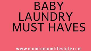 Baby Laundry Routine