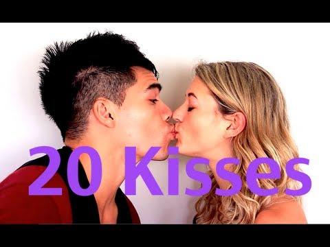 Soubor 20 zábavných polibků
