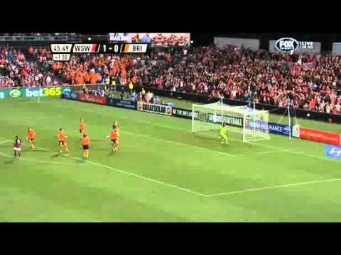 A-League Western Sydney Wanderers V Brisbane Roar Semi Final 1 2012/13