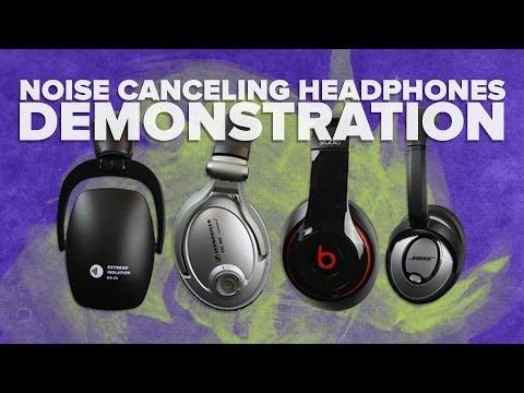 Noise Cancelling Headphones Review: Sennheiser vs Bose vs Beats Demonstration