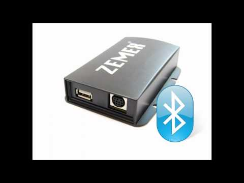 Smartphone / iPhone / iPod und MP3 Player Autoradio Adapter ZEMEX V3.1 - mit Bluetooth