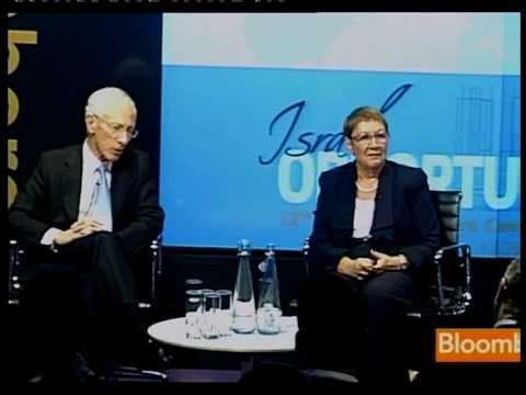 Prof. Stanley Fischer & Ester Lebanon - Israel Opportunity 2013  (13.06.2013)
