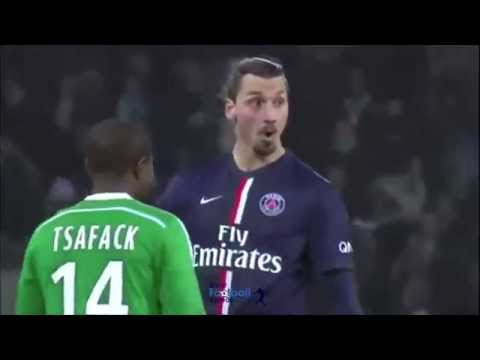 "Zlatan Ibrahimovic asks defender ""Sorry, who are you?"" 