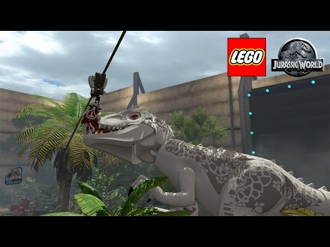 Lego Jurassic World Game - Lego Games - GamesFreak