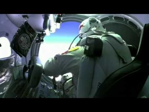 Freefall from the edge of space: Felix Baumgartner completes test flight