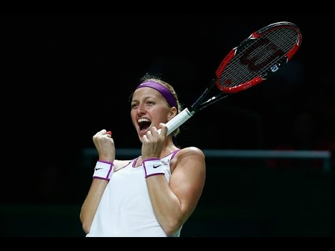 Petra Kvitova vs Maria Sharapova Semifinals | 2015 WTA Finals Highlights
