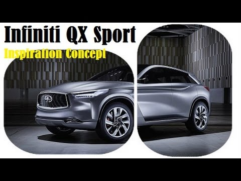 New Infiniti QX Sport Inspiration Concept, world premiere at the 2016 Beijing Auto Show