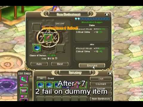Crystal Saga - How to upgrade weapon