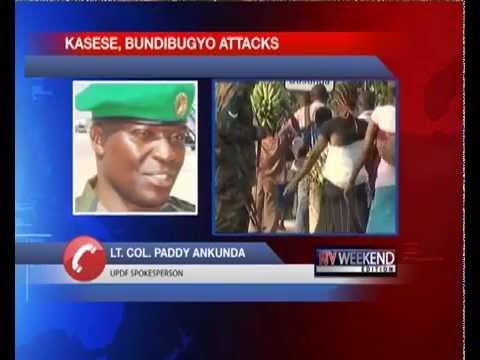 Kasese, Bundibugyo attacks