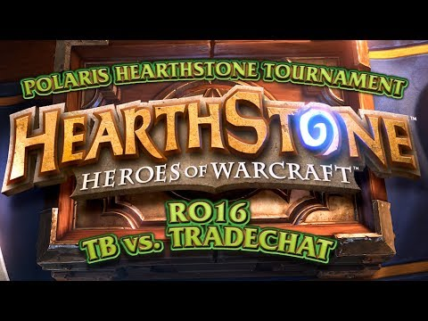 TotalBiscuit vs Tradechat - Polaris Hearthstone Tournament - RO16