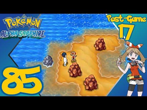 Pokémon Alpha Sapphire - E85 (Post-Game 17) - Route 132 - Gameplay Walkthrough