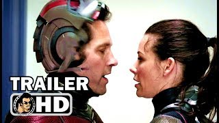 "ANT-MAN 2: ANT-MAN AND THE WASP ""Captain America"" TV Spot Trailer NEW (2018) Marvel Movie HD"