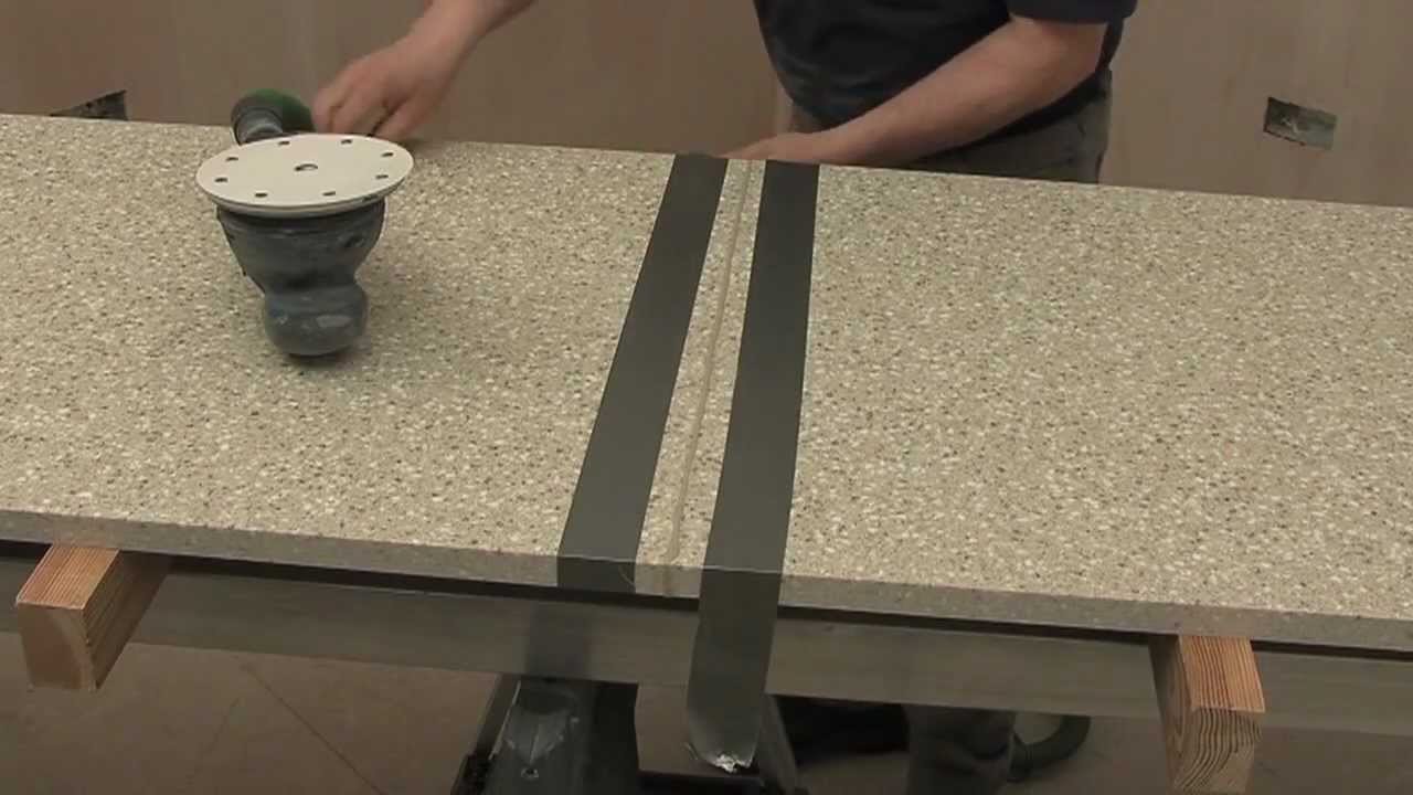 Mistral Solid Surface 07 Joint Smoothing Youtube