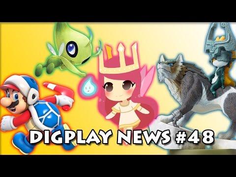 DIGPLAYNEWS #48 - Reviews Zelda TPHD. Pokemon Celebi de graça. descontos Ubisoft. e Nintendo Select