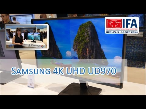 Samsung UD970 4K UHD 27'' Display im Hands on [German/HD}