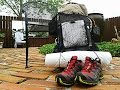 Ultralight Backpacking Gear Load