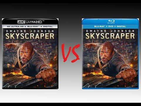 ▶ Comparison of Skyscraper 4K Dolby Vision vs Skyscraper Blu Ray Edition