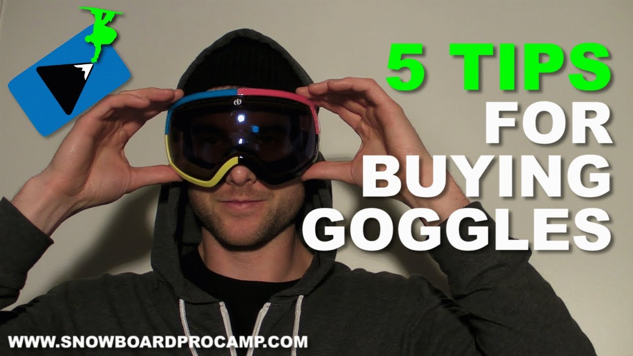 5 Tips for Buying Snowboard Goggles