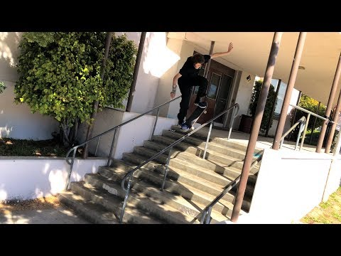 ANDREAS VS THE WESTCHESTER HAND RAIL !!! - NKA VIDS -