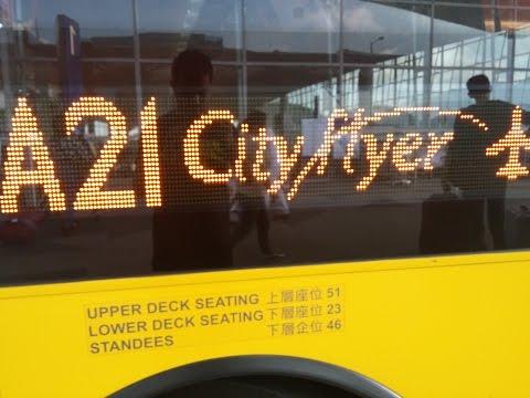 bus A21 TST to Hongkong Chek Lap Kok intl airport