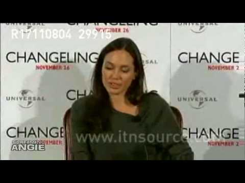 ANGELINA JOLIE * CHANGELING * TEARS UP PRESS COMFERENCE-PART 3