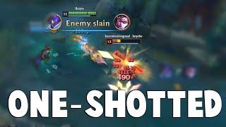 GOSU GETS ONE-SHOTTED - Watch No HP Diana One-Shot Full HP Gosu   Funny LoL Series #505