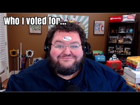 Who I voted for...