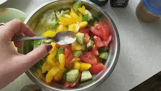 (29) Рецепт. ЛЕГКИЙ диетический салат