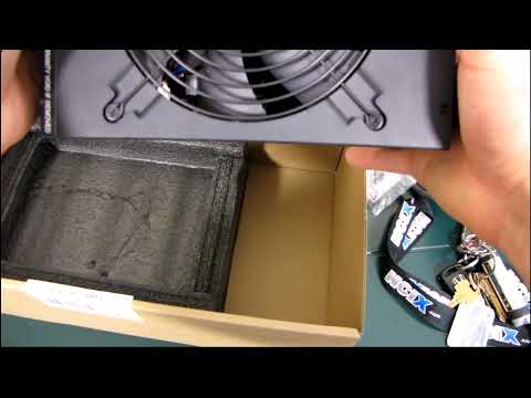 Corsair 1200AX 80 PLUS Gold Single Rail Gaming Power Supply Unboxing & First Look Linus Tech Tips