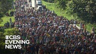 Migrant caravan continues march toward U.S.