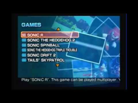 Sonic Gems Collection (PS2): Sonic the Fighters & Sonic R [Gameplay comentada]