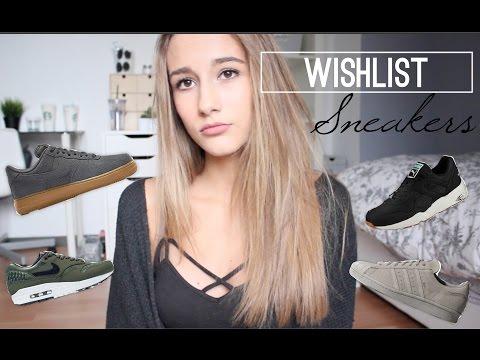 WISHLIST • sneakers