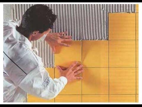 Укладка керамической плитки на стену своими руками