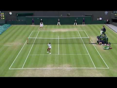 2013 Day 8 Highlights: Marion Bartoli v Sloane Stephens