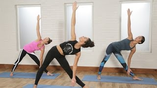 30-Minute Power Yoga Flow For Tight Abs and a Toned Butt