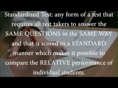 an argument on standardized testing December public forum topic analysis – standardized testing another common argument is that standardized testing has a december public forum topic analysis.