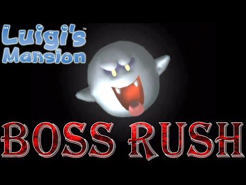Luigi's Mansion - Boss Rush (All Boss Fights, No Damage)