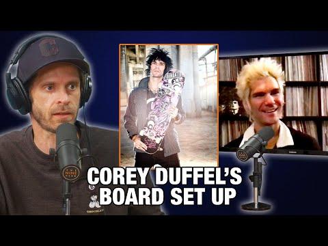 What's Corey Duffel's Board Setup?