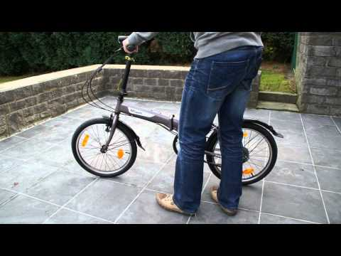 Vélo pliable Décathlon