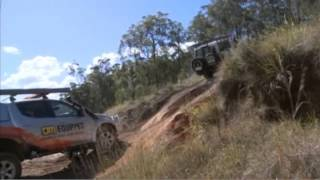 Slippery Steep Hill Ascent - 4WD Driving Tips