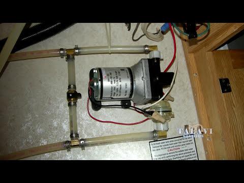 RV Internal water system repair