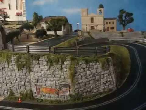 Slot Car Chase at the Targa Florio (Scalextric Digital