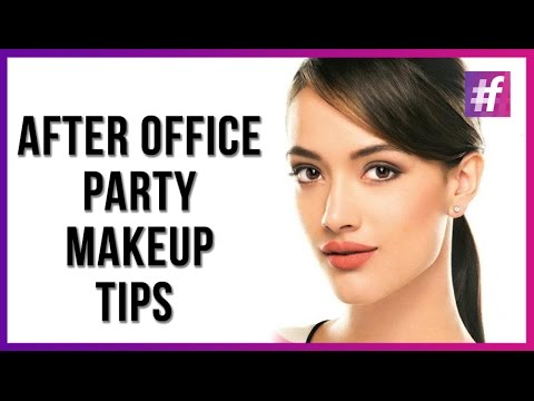 Party Makeup Tutorial - After Office Party Looks | #fame Fashion